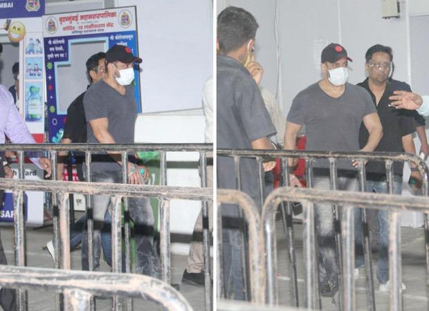 Salman Khan gets second dose of COVID-19 vaccine on Eid : Bollywood News – Bollywood Hungama