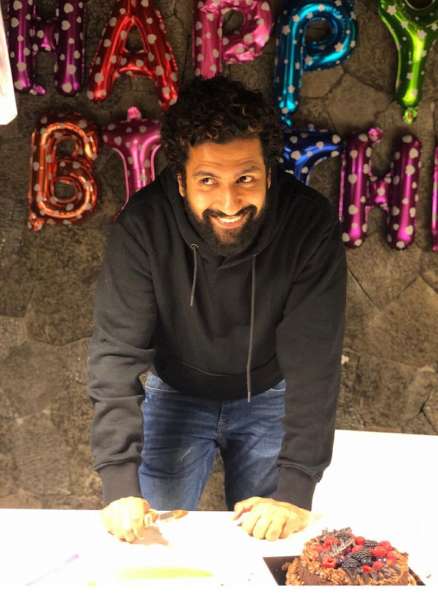 Sunny Kaushal shares Vicky Kaushal's picture from his 33rd birthday celebration