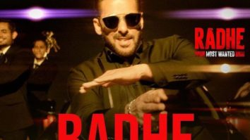 Salman Khan exudes swag in title song poster of Radhe: Your Most Wanted Bhai; song to release tomorrow