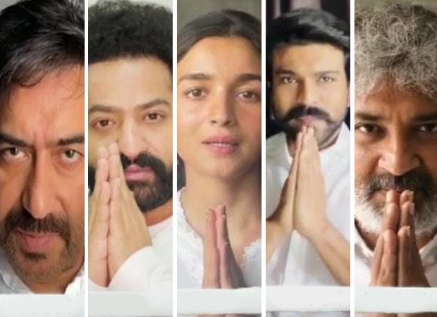 Team of RRR share a video message urging everyone to Stand Together and help India overcome the COVID crisis