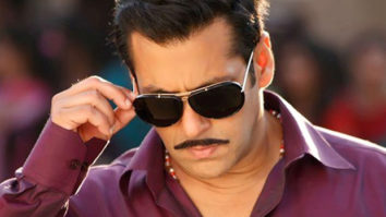 """""""I can't walk around in front of my parents as Chulbul Pandey. My dad would hit me, my mom would slap me""""- Salman Khan"""