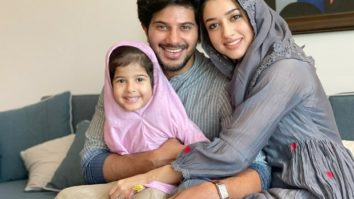 Dulquer Salmaan celebrates Eid at home; shares adorable pictures with wife and daughter