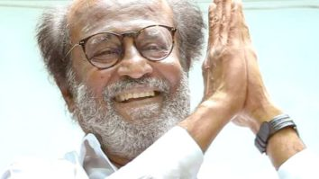 Rajinikanth gives a cheque of Rs. 50 lakh to Tamil Nadu Chief Minister MK Stalin to fight COVID-19