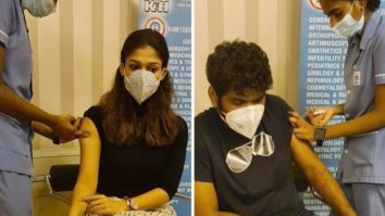 Nayanthara and Vignesh Shivan get their first dose of COVID-19 vaccination in Chennai