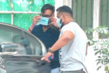 Ajay Devgn spotted at Sunny Super Sound