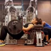 Alia Bhatt is the hardest worker in the gym, does barbell hip thrusts (2)
