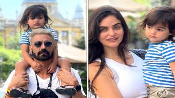 Arjun Rampal spends quality time with girlfriend Gabriella Demetriades and son Arik in Budapest