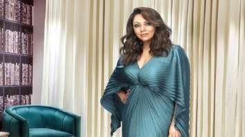 Gauri Khan exudes sheer elegance in emerald pleated dress