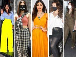HITS AND MISSES OF THE WEEK: Priyanka Chopra, Kriti Sanon, Shilpa Shetty keep it trendy; Huma Qureshi, Tamannaah Bhatia fail to impress
