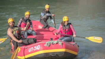 Here's how Taapsee Pannu, Vikrant Massey and Harshvardhan Rane shot rafting scene in Haseen Dillruba