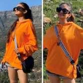 Khatron Ke Khiladi 11: Anushka Sen keeps it casual in oversized sweatshirt and denim shorts