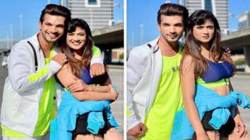 Khatron Ke Khiladi 11: Arjun Bijlani and Shweta Tiwari celebrate 'neon happiness' in Cape Town