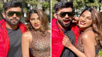 Khatron Ke Khiladi 11: Nikki Tamboli and Rahul Vaidya strike a pose in Cape Town on a sunny day