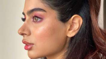 Khushi Kapoor channels Ariana Grande while sporting soft glam and high ponytail
