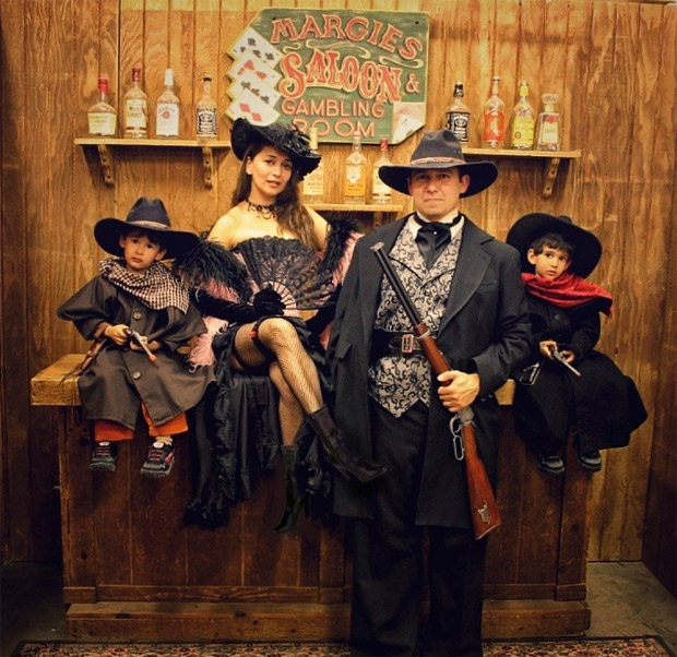Madhuri Dixit shares throwback family picture flaunting their Wild West-style
