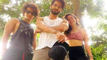 Mira Rajput shares a glimpse of her workout session with her 'Dream team' Shahid Kapoor and Ishaan Khatter (1)