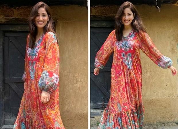 Newlywed Yami Gautam keeps it easy breezy in Ritu Kumar maxi printed dress worth Rs. 8,900