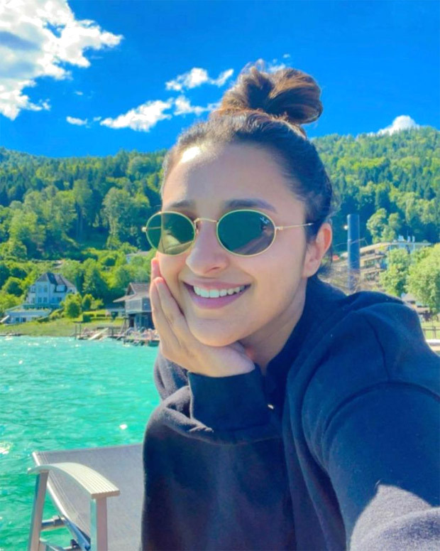 Parineeti Chopra shares a happy sunkissed picture from Austria vacation