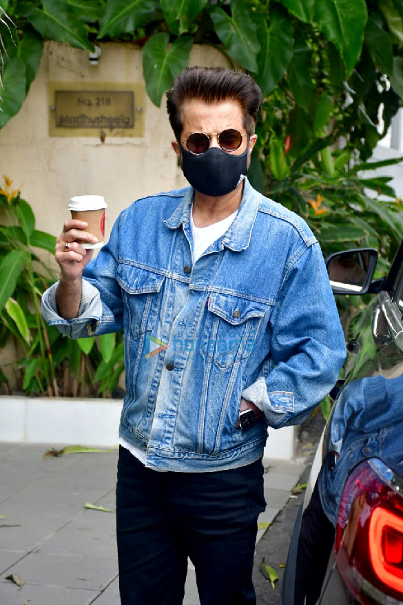 Photos: Anil Kapoor spotted at a clinic in Bandra