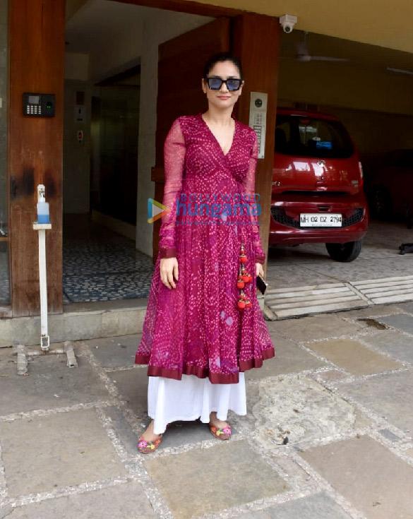 Photos Ankita Lokhande snapped at Kamal Jain's office in Juhu (3)