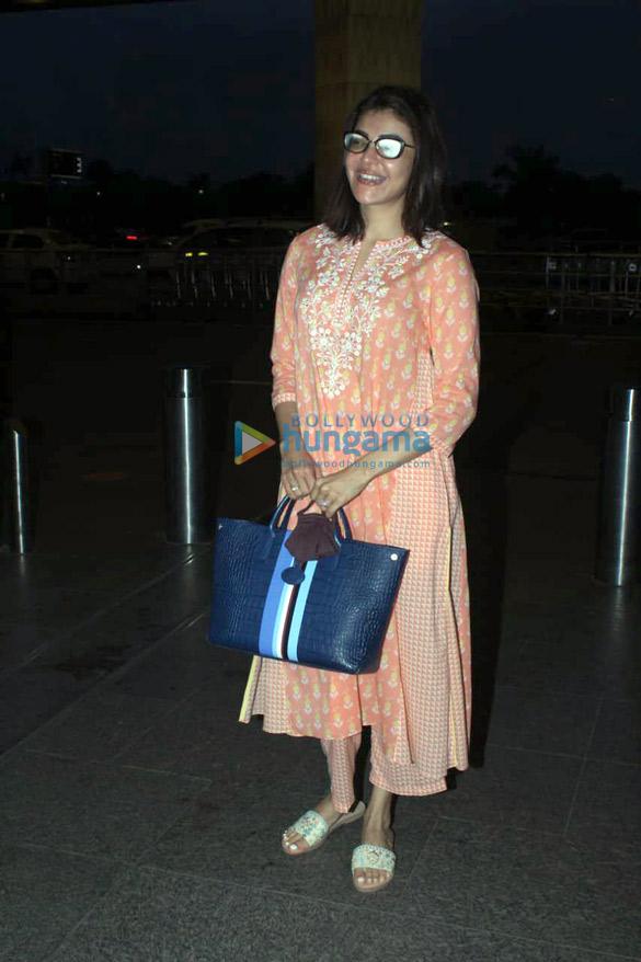Photos Kajal Aggarwal snapped at the airport (3)