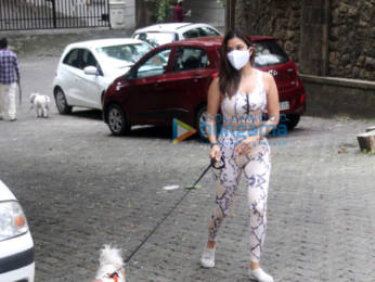 Photos: Malaika Arora and Sophie Choudry spotted in Bandra