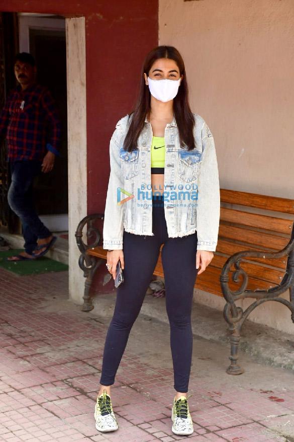 Photos Pooja Hegde spotted at a pilates studio (3)