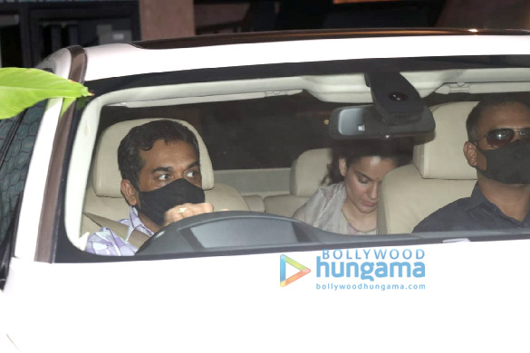 Photos Tara Sutaria, Kangana Ranaut and Giorgia Andriani spotted in Bandra (5)