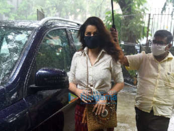 Photos: Tisca Chopra snapped at Kromakay salon in Juhu