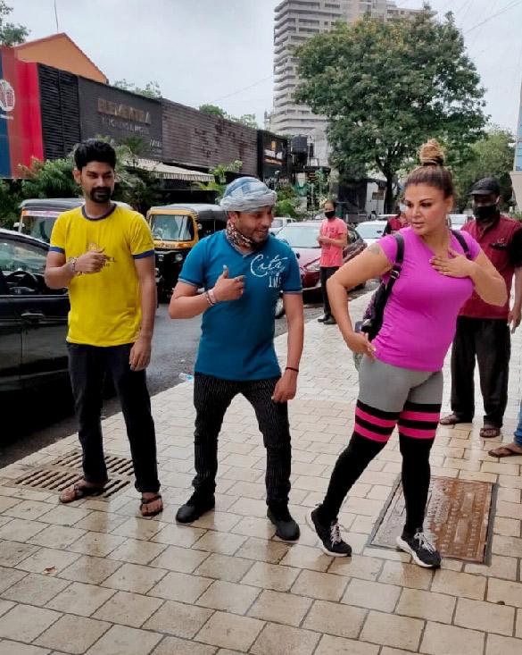 Rakhi Sawant snapped at the gym (4)