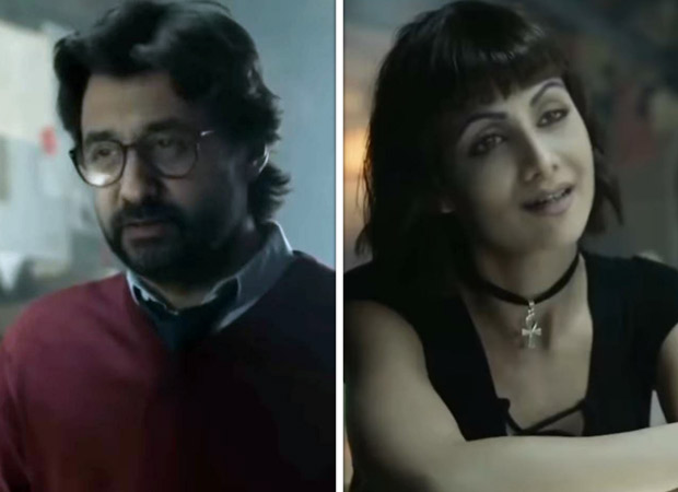 Shilpa Shetty and Raj Kundra give hilarious Punjabi twist to Professor and Tokyo from Money Heist with face swap video