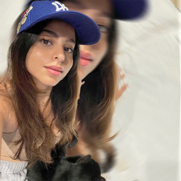 Suhana Khan shares an adorable selfie and calls herself a 'cat lady'