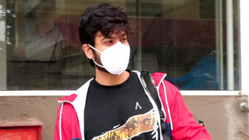 Sunny Kaushal spotted outside gym at Laxmi Industrial Estate in Andheri