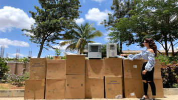 Urvashi Rautela Foundation donates total of 47 oxygen concentrators amid the COVID-19 pandemic
