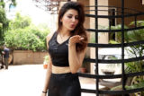 Urvashi Rautela spotted outside her residence