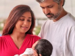 Shreya Ghoshal reveals the name of her newborn along with a family picture