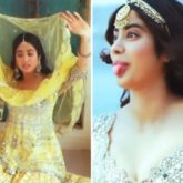 Janhvi Kapoor gives a glimpse at her goofy side in BTS video from a photoshoot