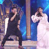 Shilpa Shetty Kundra performs as Kumar Sanu sings 'Yeh Kaali Kaali Aankhein' live on Super Dancer-Chapter 4