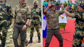 Akshay Kumar visits Tulail LoC in Jammu and Kashmir along with BSF