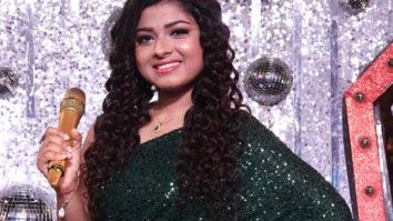 Arunita Kanjilal sings on Javed Saab's lyrics and Anu Malik's music on Indian Idol Season 12