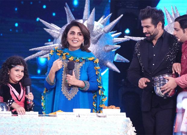Neetu Kapoor brings Kapoor Khandaan's signature dishes for Super Dancer Chapter 4 contestant Eesha Mishra