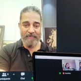 Kamal Haasan interacts with a fan diagnosed with brain cancer; gets emotional during the conversation