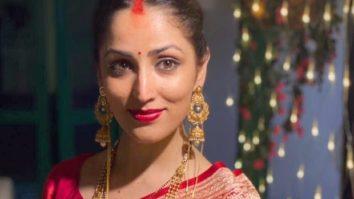Yami Gautam looks ravishing in red saree as a new bride after marrying Aditya Dhar