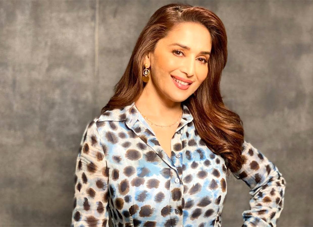 """""""25 million strong, Thank you everyone for your love & support"""", says Madhuri Dixit and thanks fans with a cartoon video of her"""
