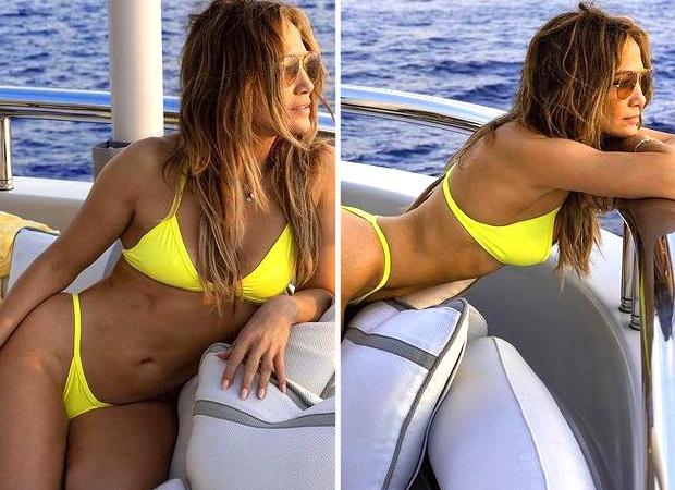 After 52nd birthday, Jennifer Lopez Jennifer Lopez flaunts her envious curves in sexy yellow bikini