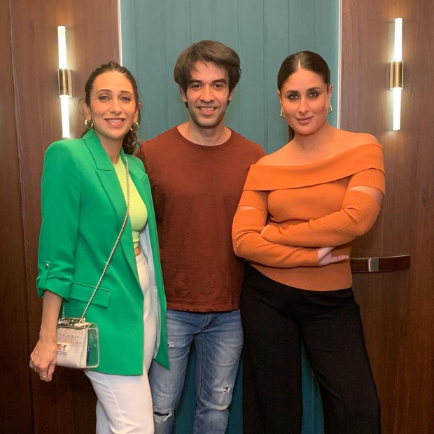 Always special shooting with Bebo, something exciting coming soon, teases Karisma Kapoor as she shoots with sister Kareena Kapoor Khan