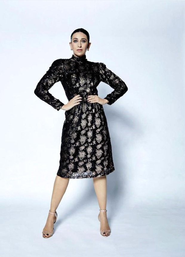 Amid Shilpa Shetty's absence, Karisma Kapoor steps up her style quotient in sequin dress on Super Dancer Chapter 4