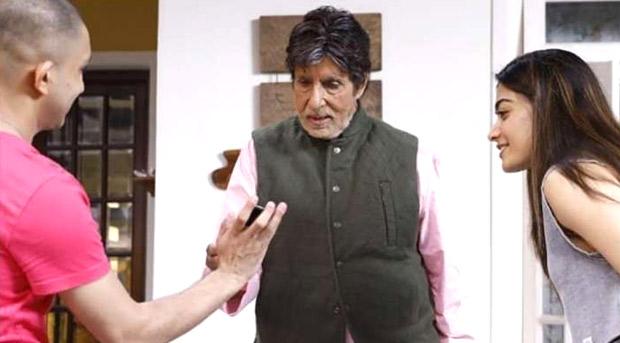 Amitabh Bachchan and Rashmika Mandanna's first look leaked from Vikas Bahl's Goodbye