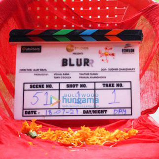 On The Sets Of The Movie Blurr