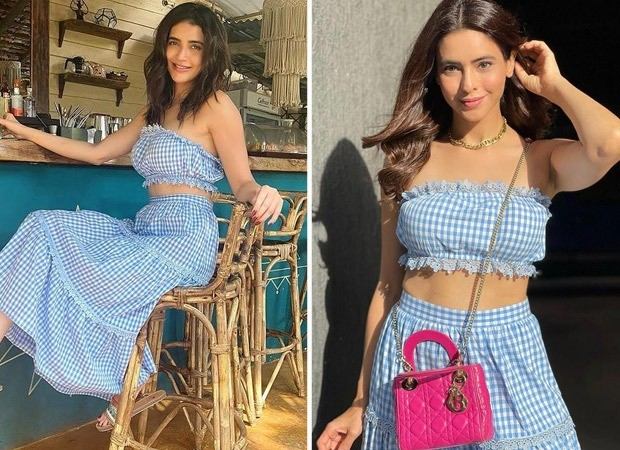 FASHION FACE OFF Karishma Tanna or Aamna Sharif - who wore gingham co-ord set better